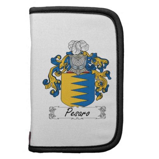 Escudo de la familia de Pesaro Planificador