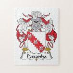 Escudo de la familia de Pessanha Rompecabeza Con Fotos