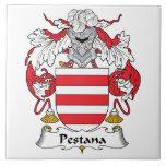 Escudo de la familia de Pestana Tejas Cerámicas