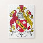 Escudo de la familia de Peter Puzzles Con Fotos