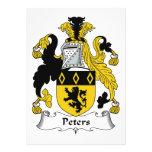 Escudo de la familia de Peters Anuncio