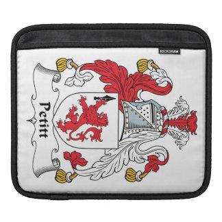 Escudo de la familia de Petitt Funda Para iPads