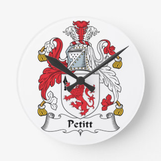 Escudo de la familia de Petitt Relojes