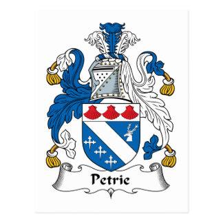 Escudo de la familia de Petrie Tarjetas Postales