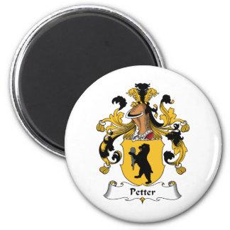 Escudo de la familia de Petter Imán Redondo 5 Cm