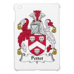 Escudo de la familia de Pettet iPad Mini Protectores