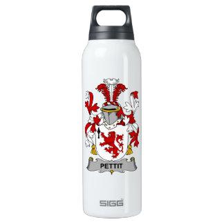 Escudo de la familia de Pettit Botella Isotérmica De Agua