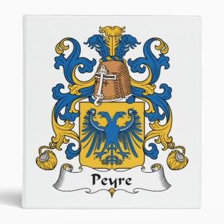 """Escudo de la familia de Peyre Carpeta 1"""""""