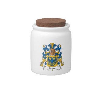 Escudo de la familia de Peyre Jarras Para Caramelos