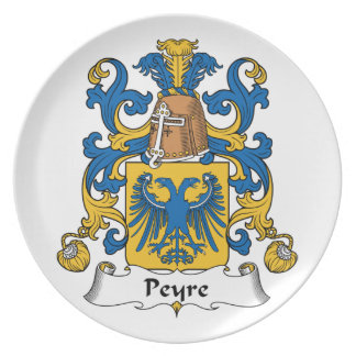 Escudo de la familia de Peyre Platos