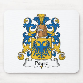 Escudo de la familia de Peyre Alfombrillas De Ratón