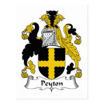 Escudo de la familia de Peyton Postal