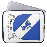 Escudo de la familia de Pfaeffikon Funda Portátil