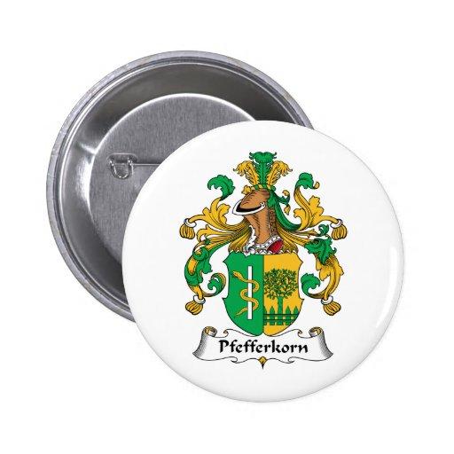 Escudo de la familia de Pfefferkorn Pins