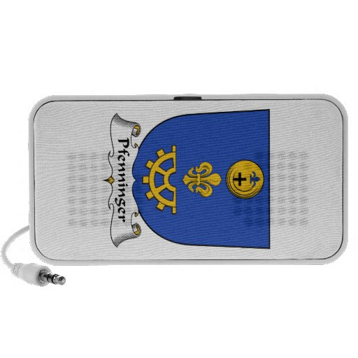 Escudo de la familia de Pfenninger Mini Altavoz