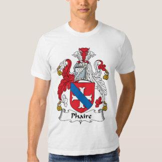Escudo de la familia de Phaire Playeras