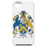 Escudo de la familia de Philip iPhone 5 Coberturas