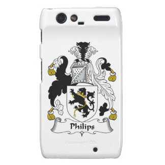 Escudo de la familia de Philips Droid RAZR Funda