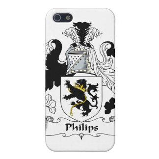 Escudo de la familia de Philips iPhone 5 Protector
