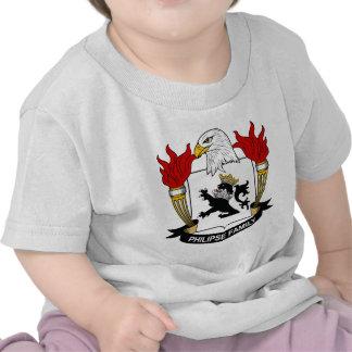 Escudo de la familia de Philipse Camiseta