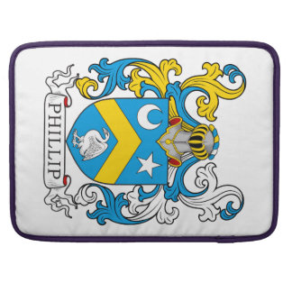 Escudo de la familia de Phillip Fundas Para Macbooks