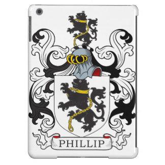 Escudo de la familia de Phillip (Galés) Funda Para iPad Air