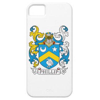 Escudo de la familia de Phillip iPhone 5 Protector
