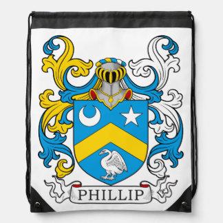 Escudo de la familia de Phillip Mochilas