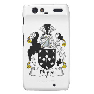 Escudo de la familia de Phipps Droid RAZR Carcasas