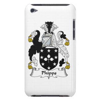 Escudo de la familia de Phipps Case-Mate iPod Touch Carcasa