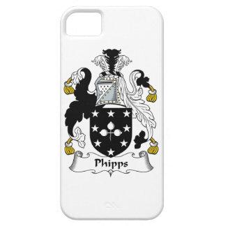 Escudo de la familia de Phipps iPhone 5 Case-Mate Carcasas