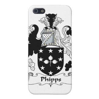 Escudo de la familia de Phipps iPhone 5 Cárcasa