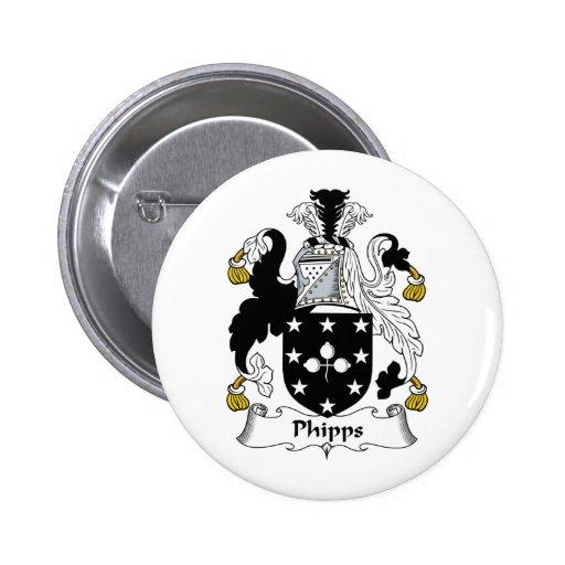 Escudo de la familia de Phipps Pin