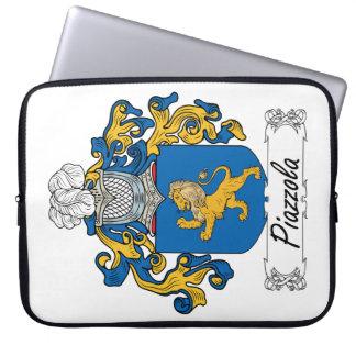 Escudo de la familia de Piazzola Funda Ordendadores
