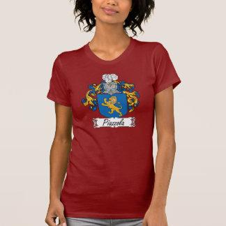 Escudo de la familia de Piazzola Camisetas