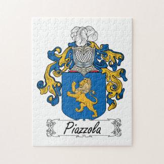 Escudo de la familia de Piazzola Rompecabeza Con Fotos