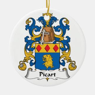 Escudo de la familia de Picart Ornatos