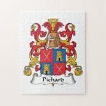 Escudo de la familia de Pichard Puzzles