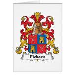 Escudo de la familia de Pichard Tarjeton