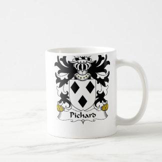 Escudo de la familia de Pichard Taza De Café