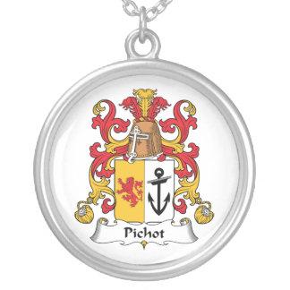 Escudo de la familia de Pichot Colgante Redondo