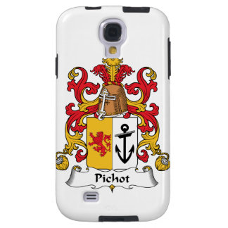 Escudo de la familia de Pichot Funda Para Galaxy S4