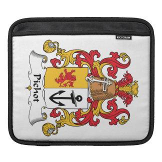 Escudo de la familia de Pichot Funda Para iPads