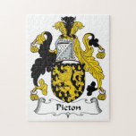 Escudo de la familia de Picton Puzzle
