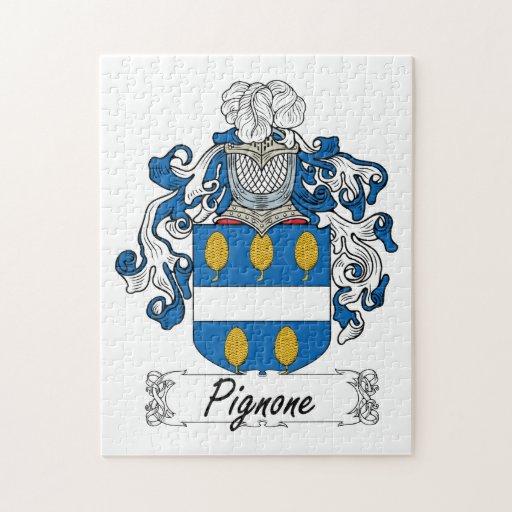 Escudo de la familia de Pignone Puzzles