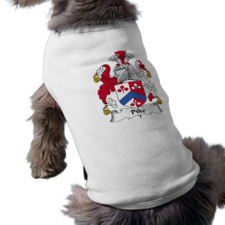 Escudo de la familia de Pike Camisetas De Perro