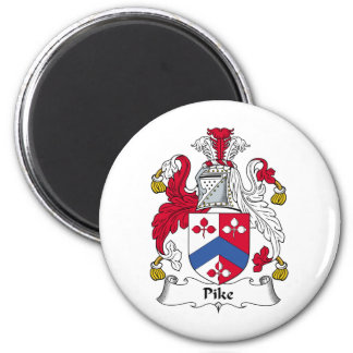 Escudo de la familia de Pike Imán De Nevera