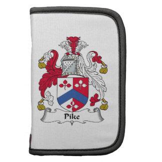 Escudo de la familia de Pike Planificador