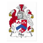 Escudo de la familia de Pike Postal