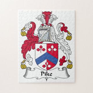Escudo de la familia de Pike Puzzle